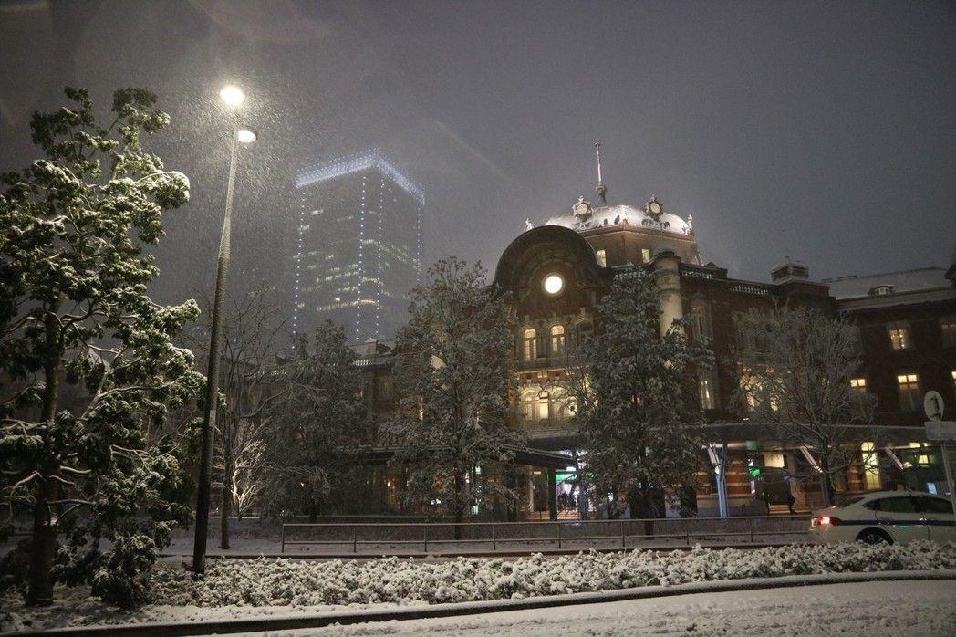 大雪昨襲東京 兩年前的今天...霸王寒流襲台