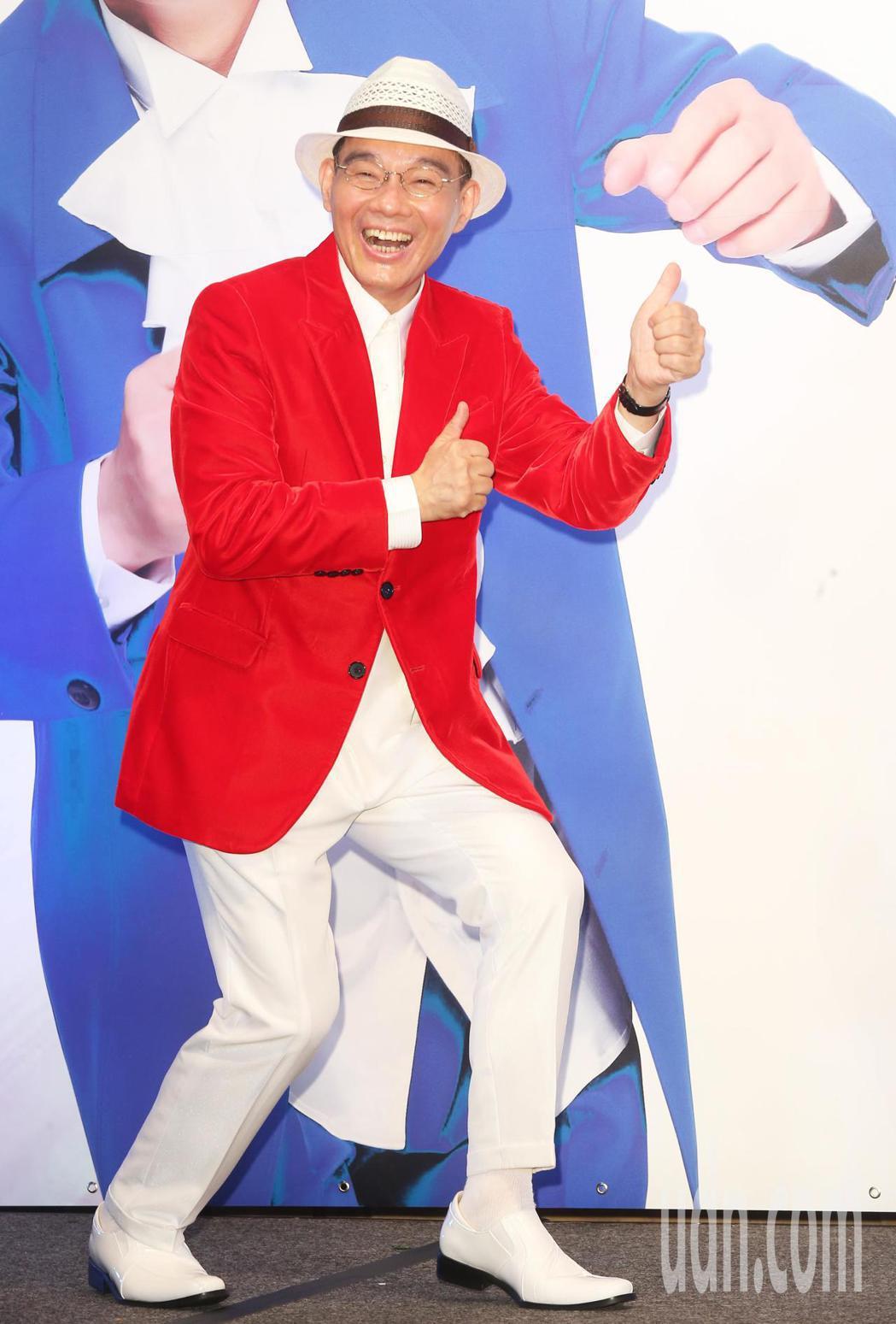 出道30年的台語歌手陳雷將在今年7月21日首度登小巨蛋舉行個人演唱會。記者徐兆玄...