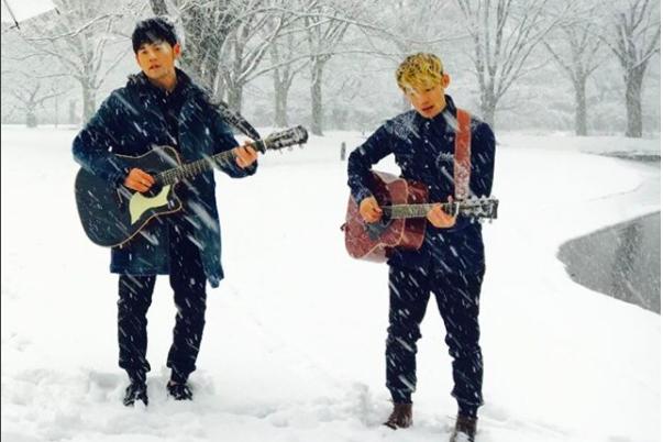 周杰倫去日本東京遇大風雪。圖/摘自周董IG
