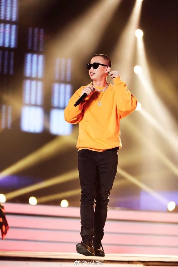 在「中國有嘻哈」打響名號的GAI(周延)傳出是大陸限娛令的受害者。圖/擷自GAI...