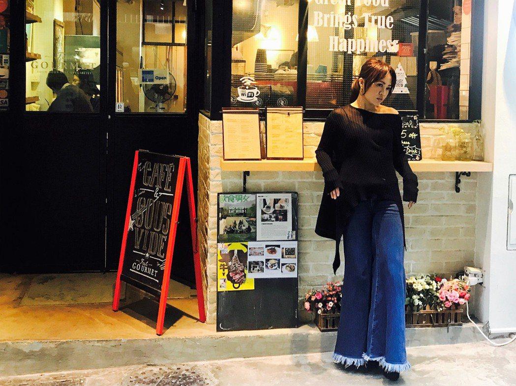 戴愛玲去香港宣傳,行程滿檔。圖/索尼提供
