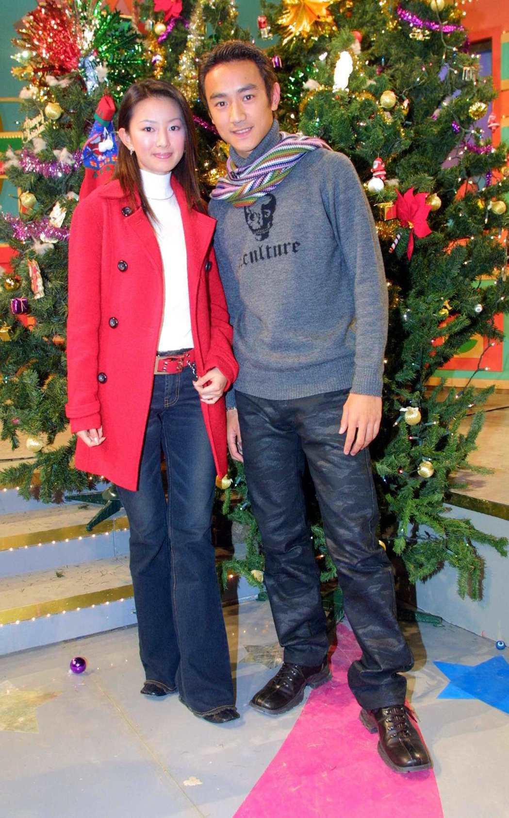 後藤希美子(左)曾與林佑威在劇中演情侶。圖/本報資料照
