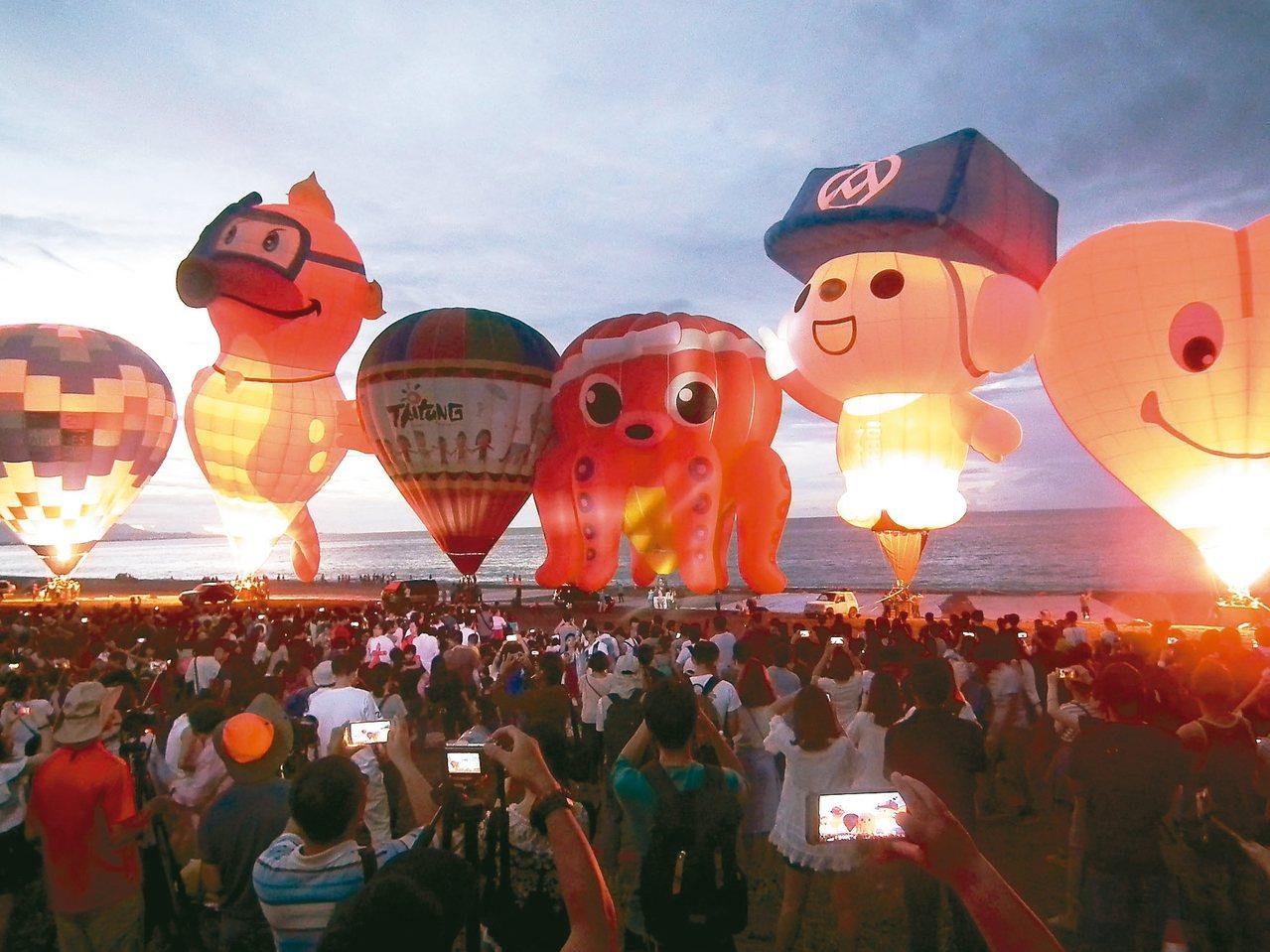 台東台灣國際熱氣球嘉年華舉辦7年,在今年由知名旅遊頻道Travel Channe...