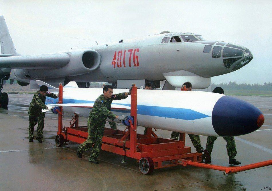 共軍轟-6G轟炸機。 圖/摘自環球網