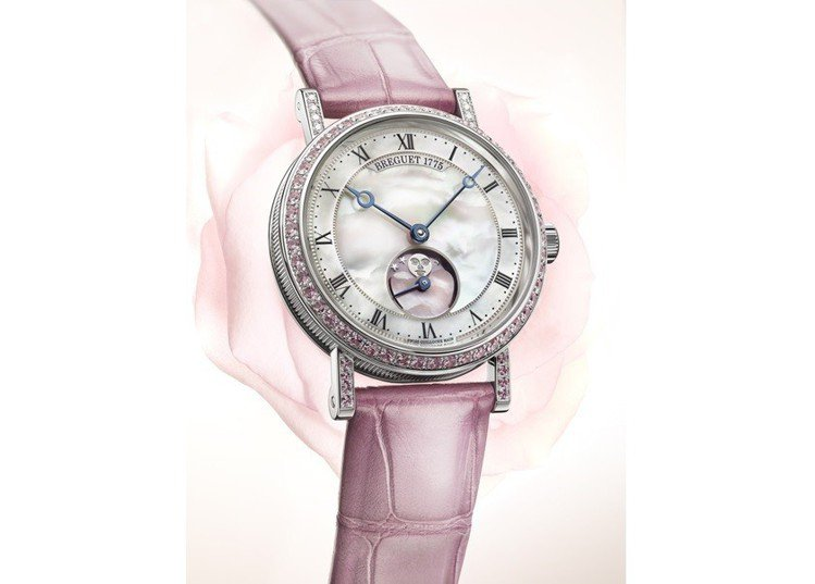 寶璣Classique經典系列腕表,情人節限定款,全球僅14只,台灣分到編號12...