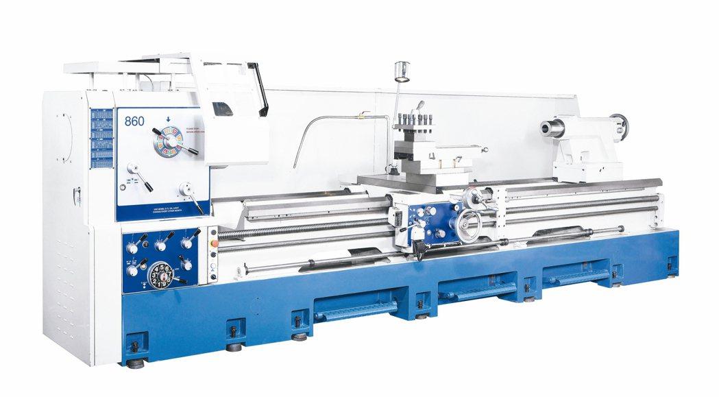 威赫X系強力重切削精密車床,耐操、耐用、CP值高。 威赫科技/提供