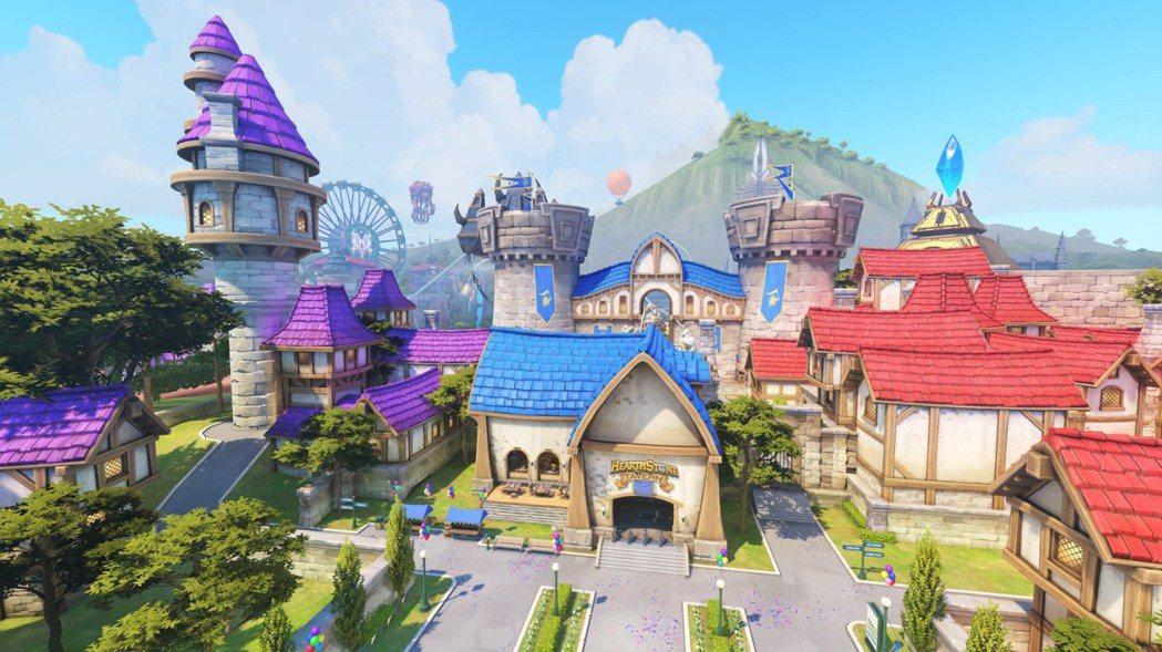 捍衛者將在「暴雪樂園」這張混合的地圖,重溫你最喜愛的遊戲回憶