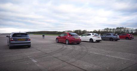 (影音)千禧年後Civic Type R世代對決 給你滿滿的VTEC