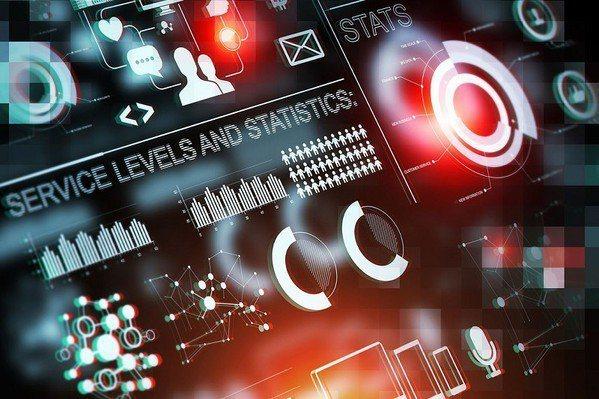 圖1 : 製造業要導入AI的前提是要將所有系統數位化,透數據可以被累積、分析、交...