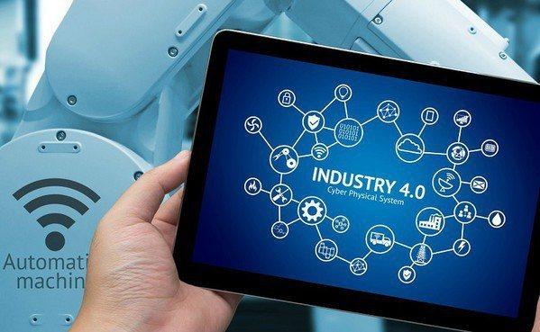 圖2 : 工業4.0與AI的整合已是必然趨勢,AI的深度學習與感知設計,將全面提...
