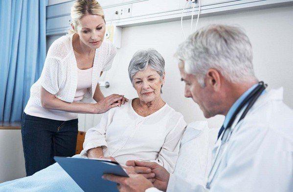 圖2 : 接受長照者多為老人或慢性病患,緊急狀況較少,大多只需掌握生理資訊並配合...