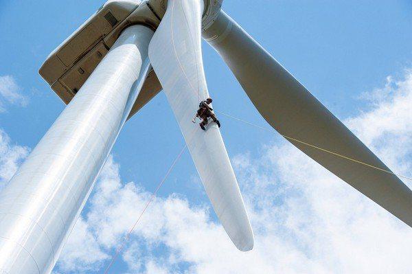 圖2 : 離岸風電的設置地點偏遠與裝置大型化,讓維修難度大幅提升。(Source...