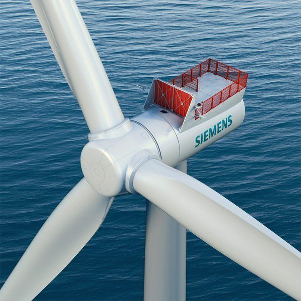 圖3 : 西門子為離岸風電的市場領頭羊。(Source:Siemens)