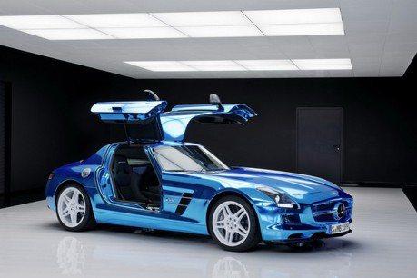 電動AMG上市前先推出805hp Hybrid跑車