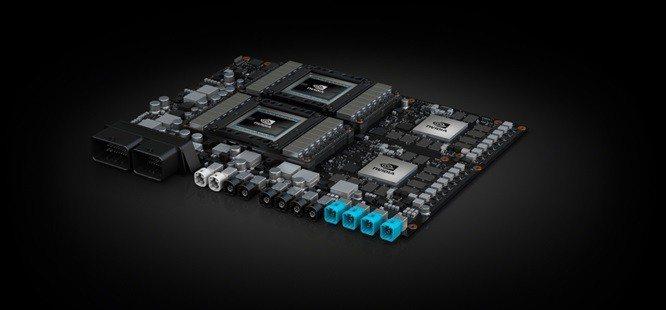 圖二、NVIDIA針對全自駕計程車所設計的AI電腦「Pegasus」,將提供安全...