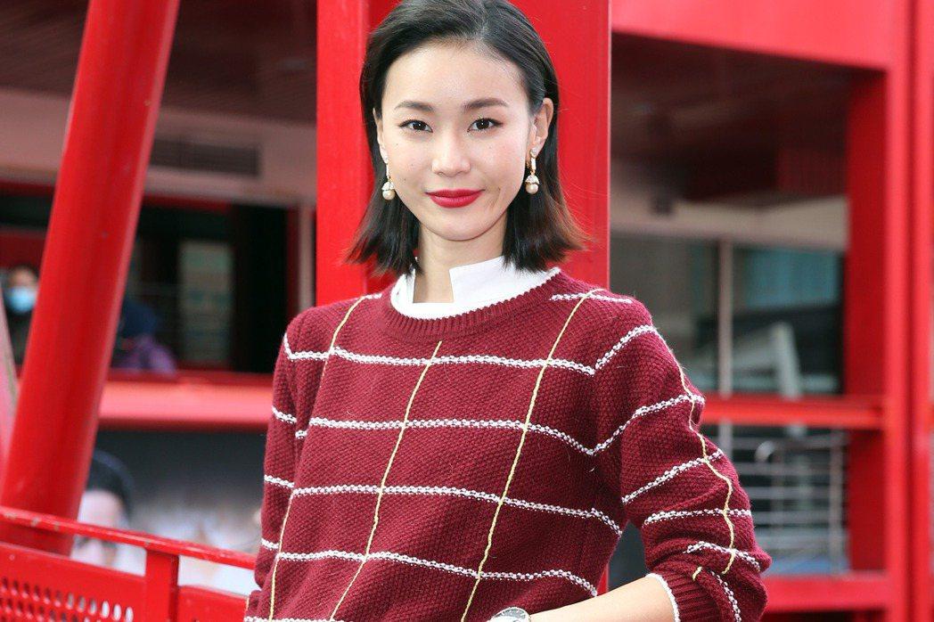 三立華劇 「姊的時代」演員鍾瑤。記者曾吉松/攝影