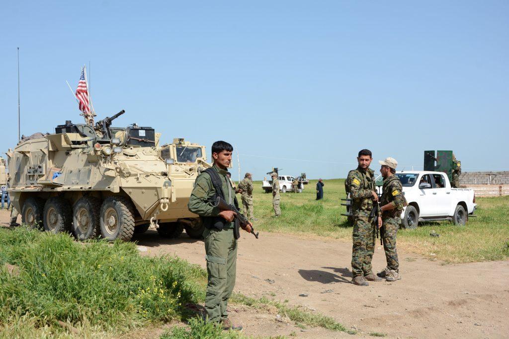 YPG是美國所支持的庫德族武裝組織。 (歐新社)