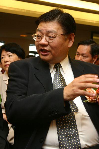 黃光彩出席校長交接典禮。 圖/聯合報系資料照片
