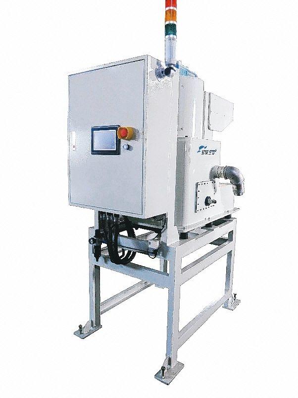 勤閔工業推出的全自動離心式過濾機。 勤閔工業/提供