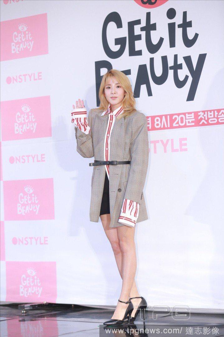 韓國歌手Dara。圖/達志影像