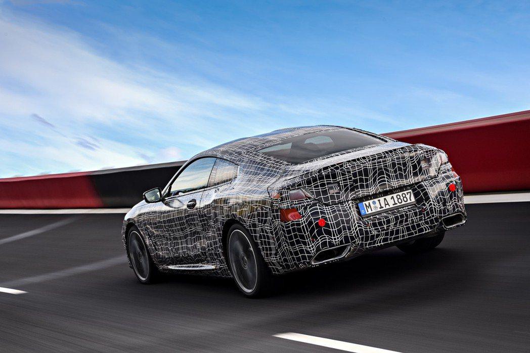 看過概念車的外觀後,令人更加期待全新BMW 8 Series Coupe量產後的長相。 摘自BMW