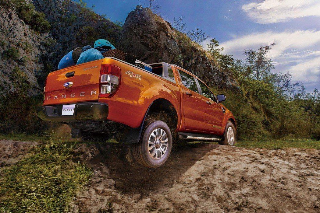 2017年Ford Ranger在台灣創下在皮卡級距超越八成之市佔率,穩居市場領...