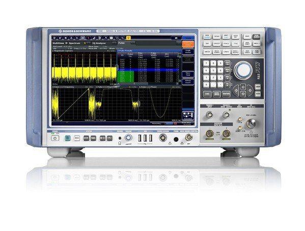 圖2 : 羅德史瓦茲FSW85高階訊號及頻譜分析儀。 圖片來源:roh...