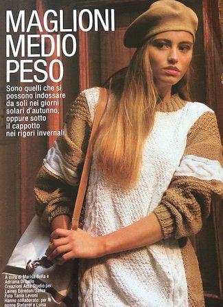布蘭妮路易斯曾為義大利的雜誌拍攝美照。圖/摘自The Wrap