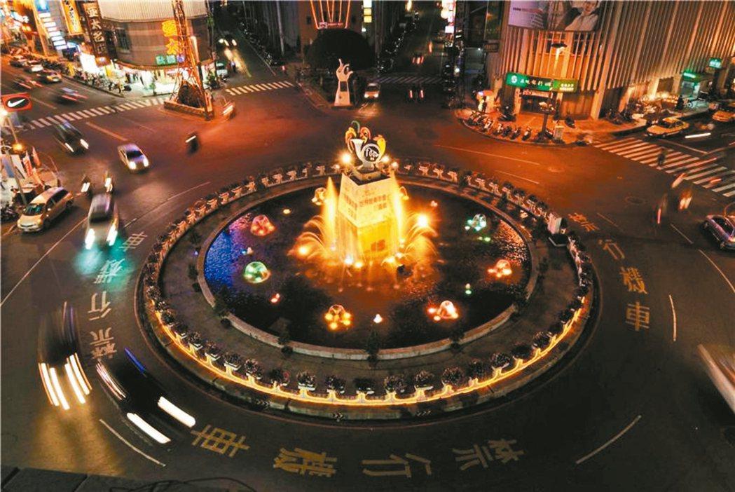 美麗的中央噴水池是嘉義永遠的地標。 圖╱嘉義市觀光旅遊網提供