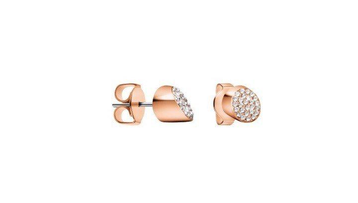 Brilliant系列耳環,2,600元。圖/CALVIN KLEIN watc...