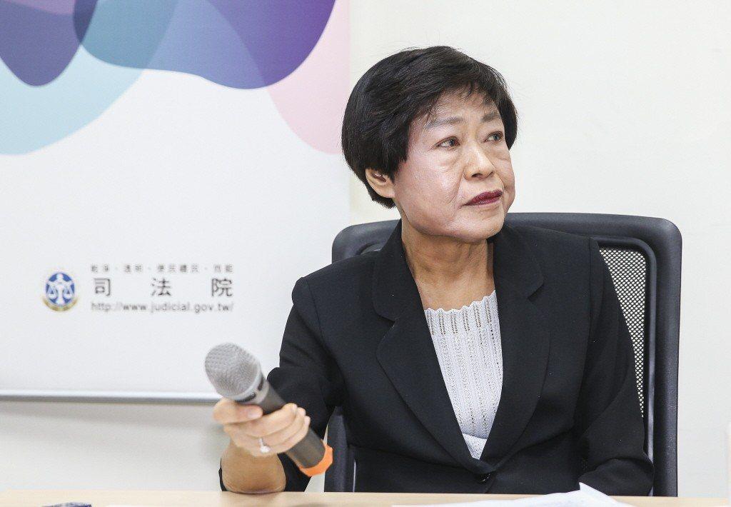 林錦芳因論文風波放棄司法院副院長提名。 圖/聯合報系資料照片
