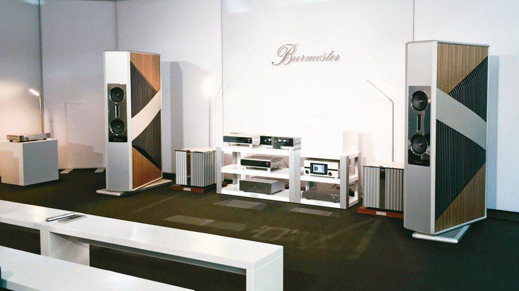 Burmester甫於慕尼黑發表的全新BC350揚聲器與柏林KPM陶瓷合作。 圖...