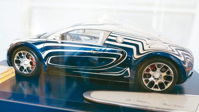 KPM曾與頂級超跑Bugatti合作,堪稱世上跑得最快的陶瓷。 圖/孫曼