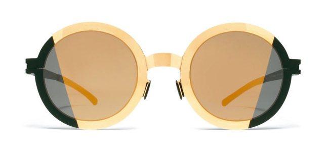 結合當代美學創意和傳統工藝的Mykita眼鏡。 圖/孫曼