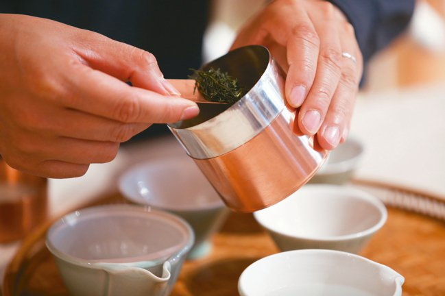 開化堂的銅罐,有著京都工藝之美。 王騰毅/攝影