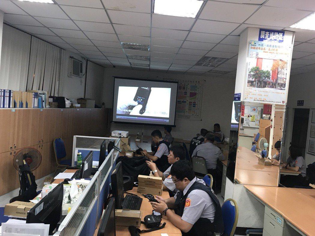 台北市中山分局中山二派出所是台北市面積不足最多的派出所。 台北市警局/提供