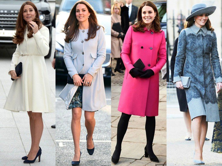 凱特王妃過去很少圍圍巾。圖/達志影像