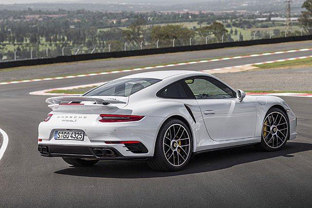 現行款911 turbo。 摘自Porsche