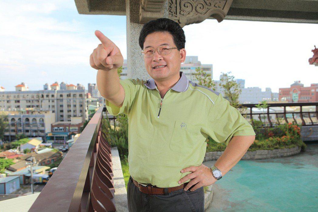 彰化市長邱建富。 圖/聯合報系資料照片