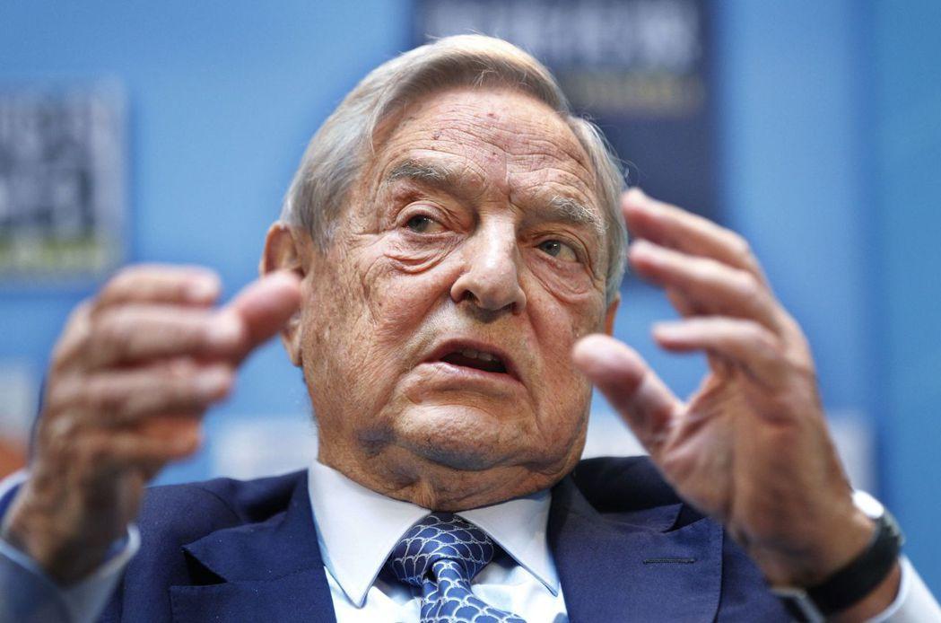 87歲的索羅斯(George Soros)在每年於世界經濟論壇(WEF)期間主辦...