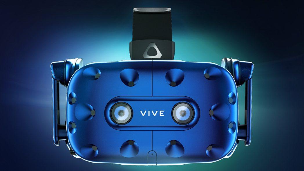 全新升級的HTC VIVE Pro配備雙OLED顯示螢幕及2,880 X 1,6...