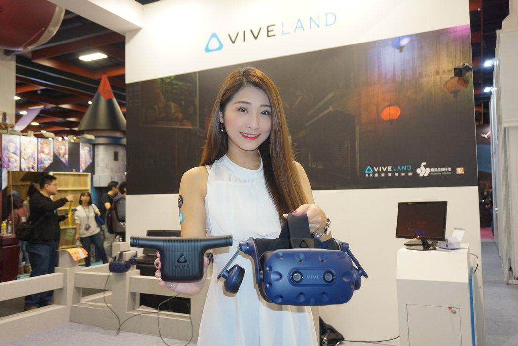 新一代VIVE Pro及VIVE無線模組,於2018台北國際電玩展首度在台亮相。...