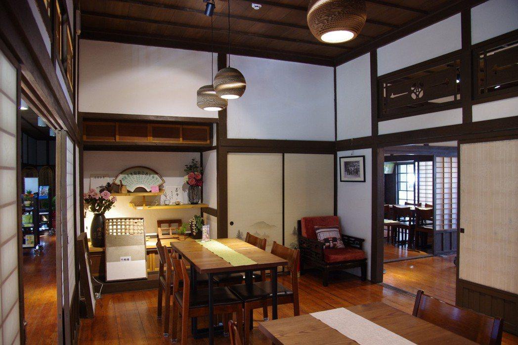 陸聯廳的日式「和屋」,如今作為「咖啡書屋」。 記者程嘉文/攝影