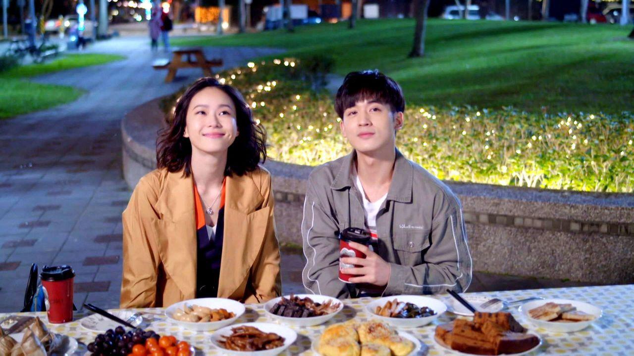 鍾瑶和小樂在「姊的時代」配對頗受歡迎。圖/三立提供