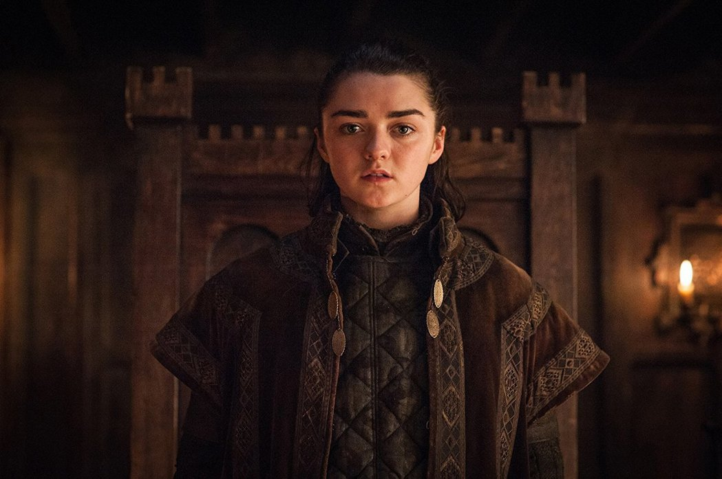 梅西威廉絲洩露「冰與火之歌:權力遊戲」最終季首播月份。圖/摘自HBO