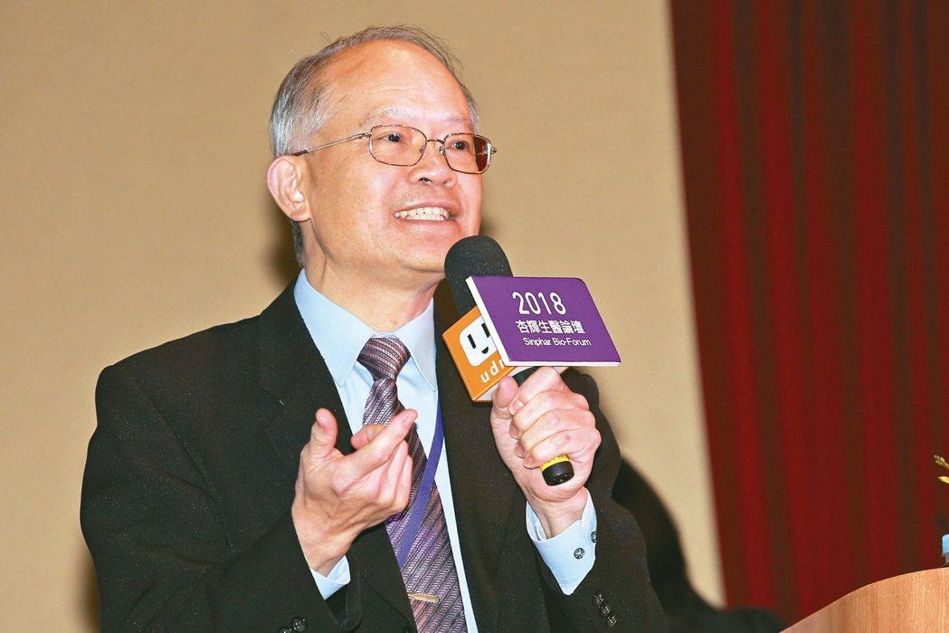 杏國新藥總經理蘇慕寰 記者程宜華、林伯東/攝影、本報資料照片