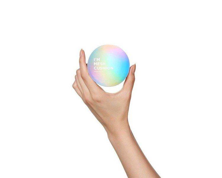 I'M MEME我愛零距離氣墊粉餅,售價690元,共3色。圖/MEMEBOX提供