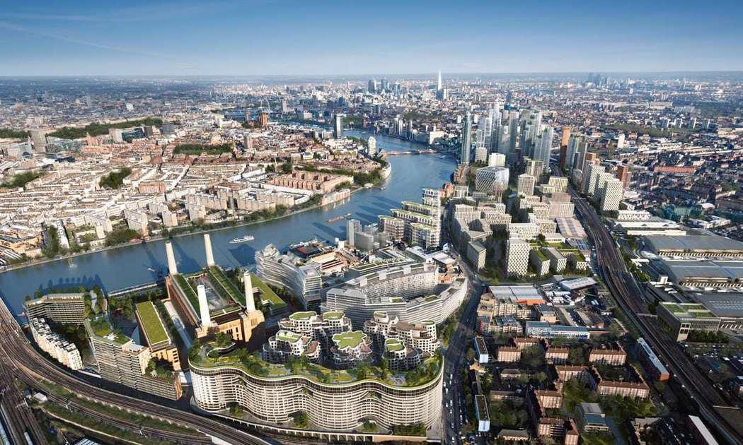 倫敦市區營造規劃圖。取自倫敦九榆樹區合夥計畫官網