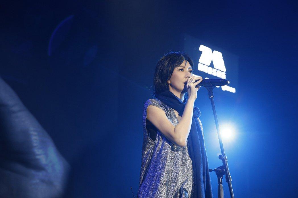 孫燕姿27日在上海舉辦唱談會。圖/環球提供