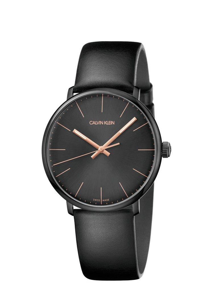CALVIN KLEIN巔峰系列腕表,約8,800元。圖/CALVIN KLEI...